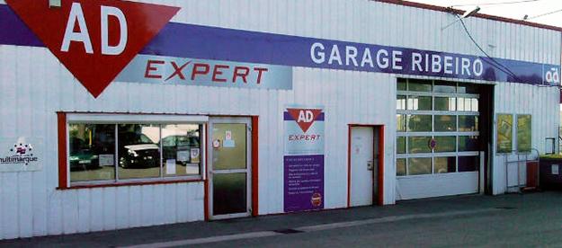 Garage Ribeiro façade